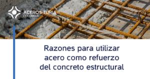 que es el concreto reforzado con acero